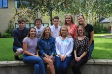 Matthew Maguire, Timothy Davidson, Adam Smith Grace Doran, Hannah Forster,Saffron McKinney, Kerri McMullan,Grace Doran and Lauren Plunkett all achieved 2 A* grades and 1 A grade