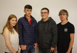 Tori Showkum, Wilson Marshall, Stephen Black and Andrew Mylroi Lamont achieved 7 A* or A grades within their totals
