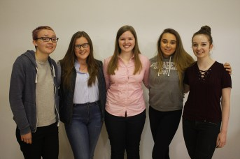 Lauren Anderson, Hannah Ferguson, Amy Fowler, Erin Bloomer and Emma McFarland achieved at least 6 A* or A grades within their results