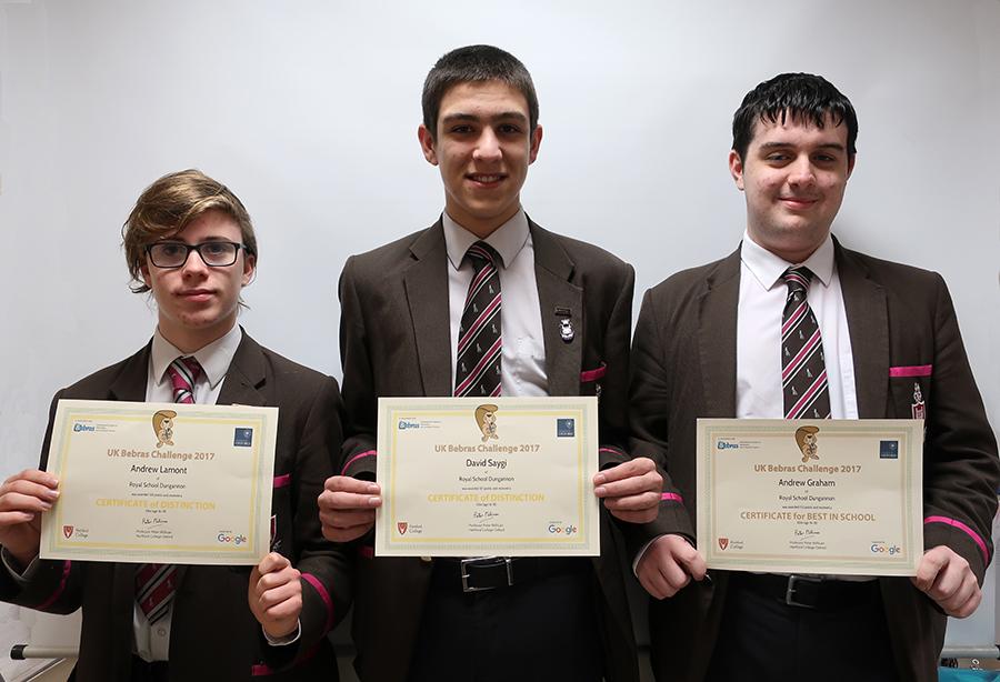 Bebras Computing Challenge: UK and Ireland Finals