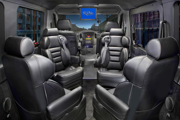 Custom Step Van Interior