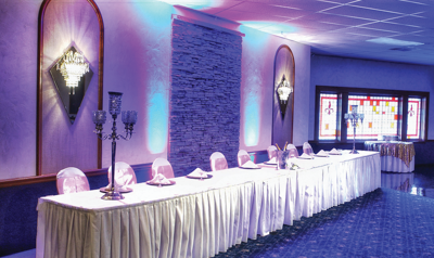 Royale Orleans renovation head table