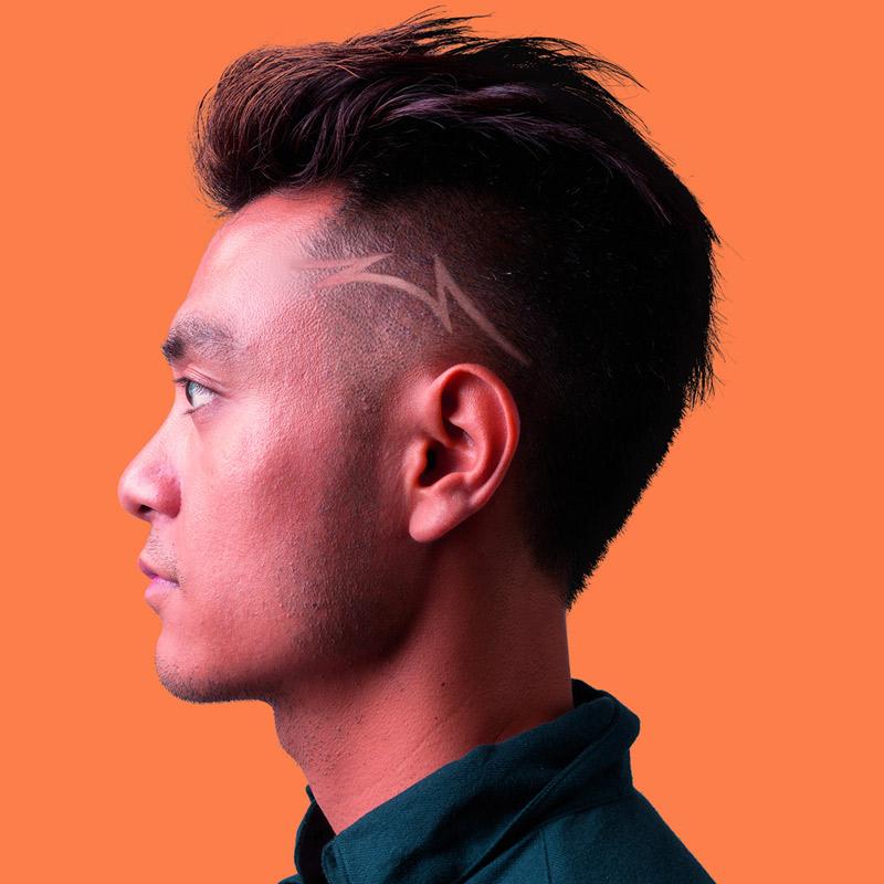 Undercut Hair Tattoo Designs | Amathair.co