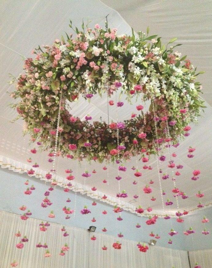 Arreglos Florales Colgantes En Alquiler Royal Events