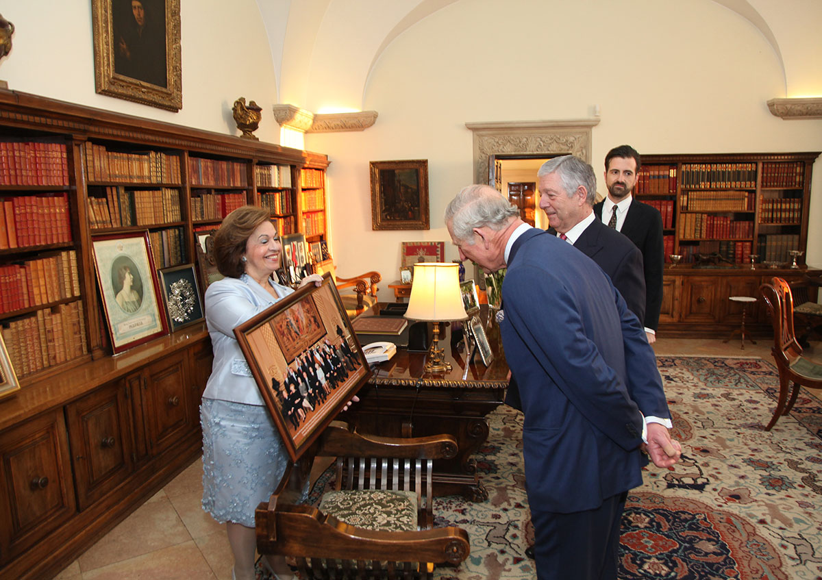 The Prince Of Wales Guest Of Crown Prince Alexander And
