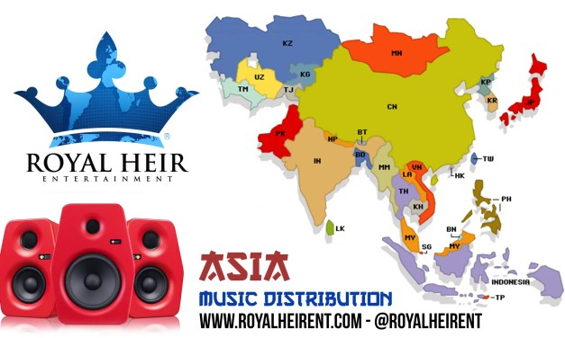 Music Distribution in ASIA!