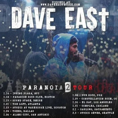 1-16 TOUR Dave East