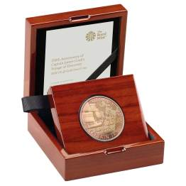 Captain Cook Coin Gold Proof