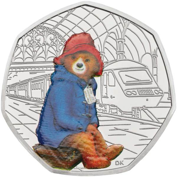paddington bear 50p # 11