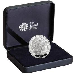 Royal Mint image and link 1 Ounce silver Proof Britannia
