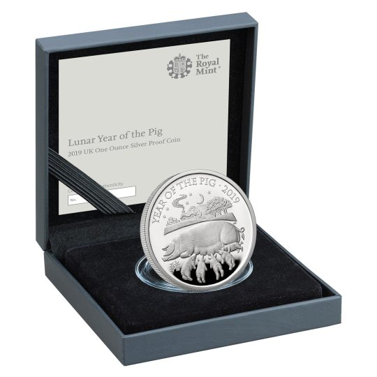 Year of the Pig Coin