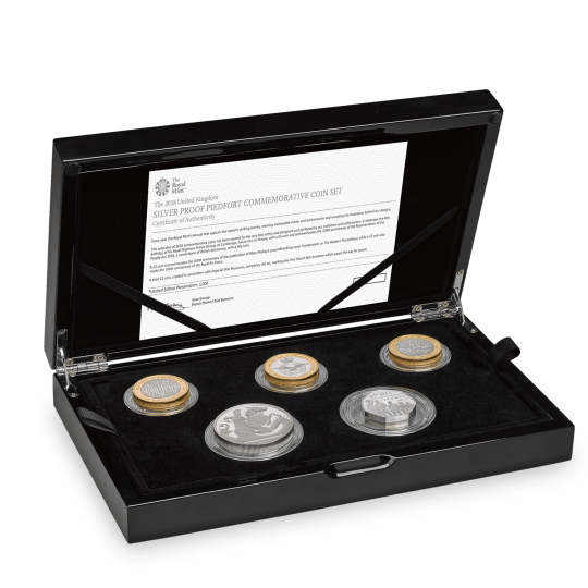 Piedfort Silver Proof Set