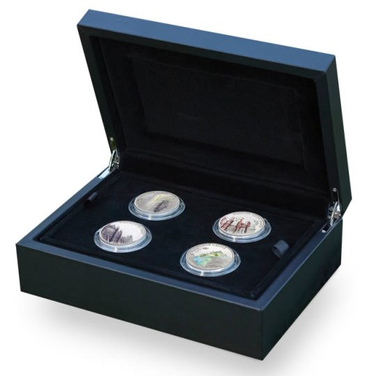 2017 Colorized Silver Coins