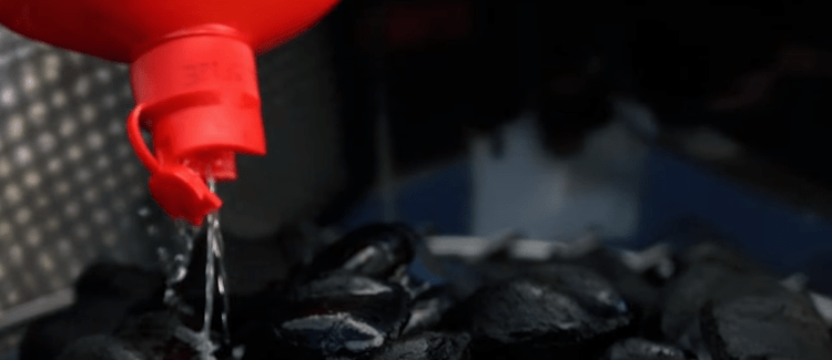 how to light your charcoal royal oak
