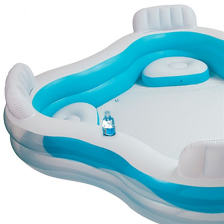 intex piscine gonflable avec 4 sieges pour enfant et famille 2 29x2 29x0 66m