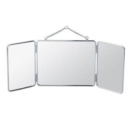 Gerson Miroir Triptyque A Suspendre 30 X 24 5 Cm