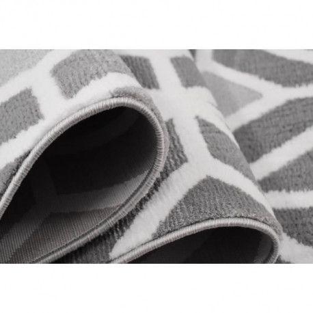 oreva tapis de salon style scandinave 100 polypropylene heatset 160 x 230 cm