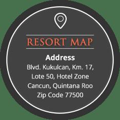 The Royal Haciendas resort map and aadress