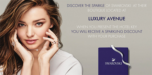 Swarovski in Luxury Avenue Boutique Mall Cancun, Mexico