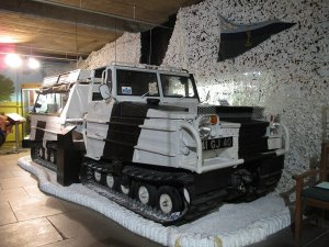 SnowCat tracked military vehicle