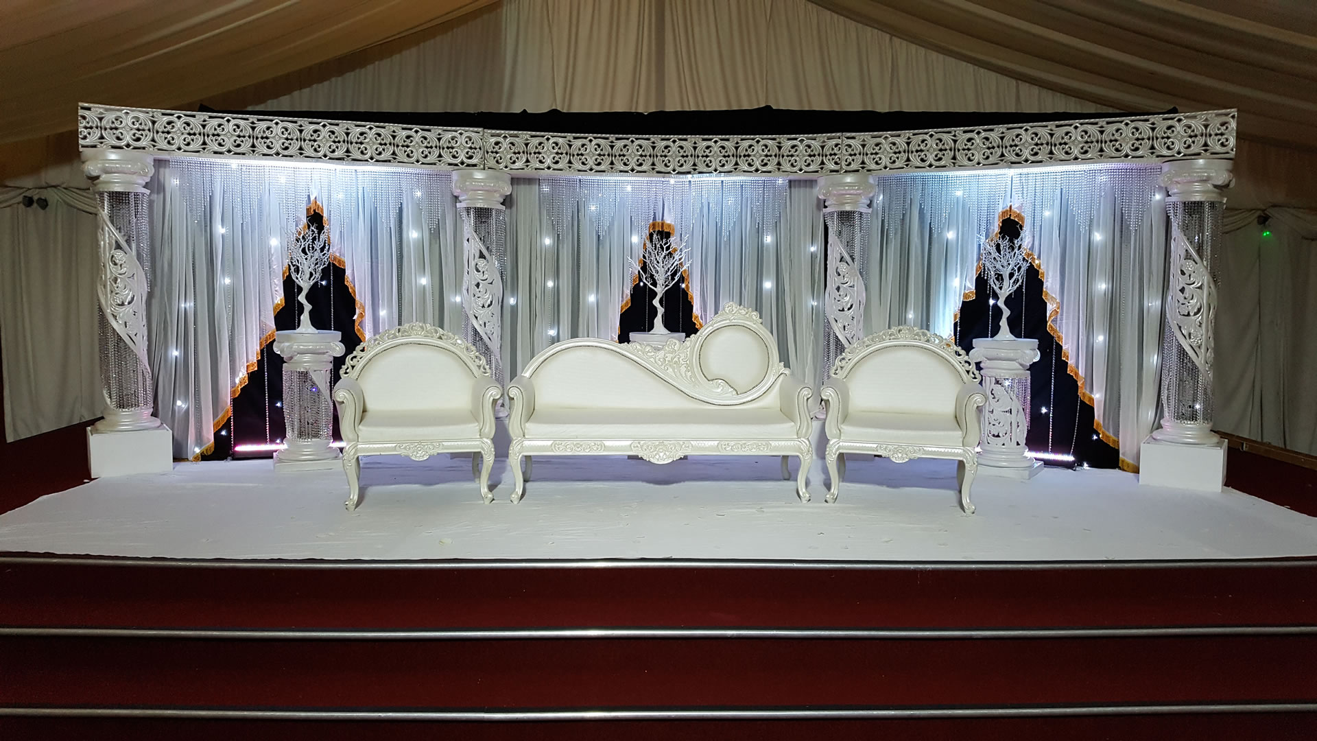 WS124 Wedding Stages Royal Stages Amp Wedding Services