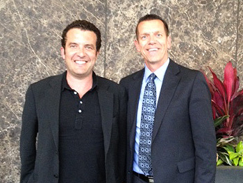 Rick Mercer shares a few laughs
