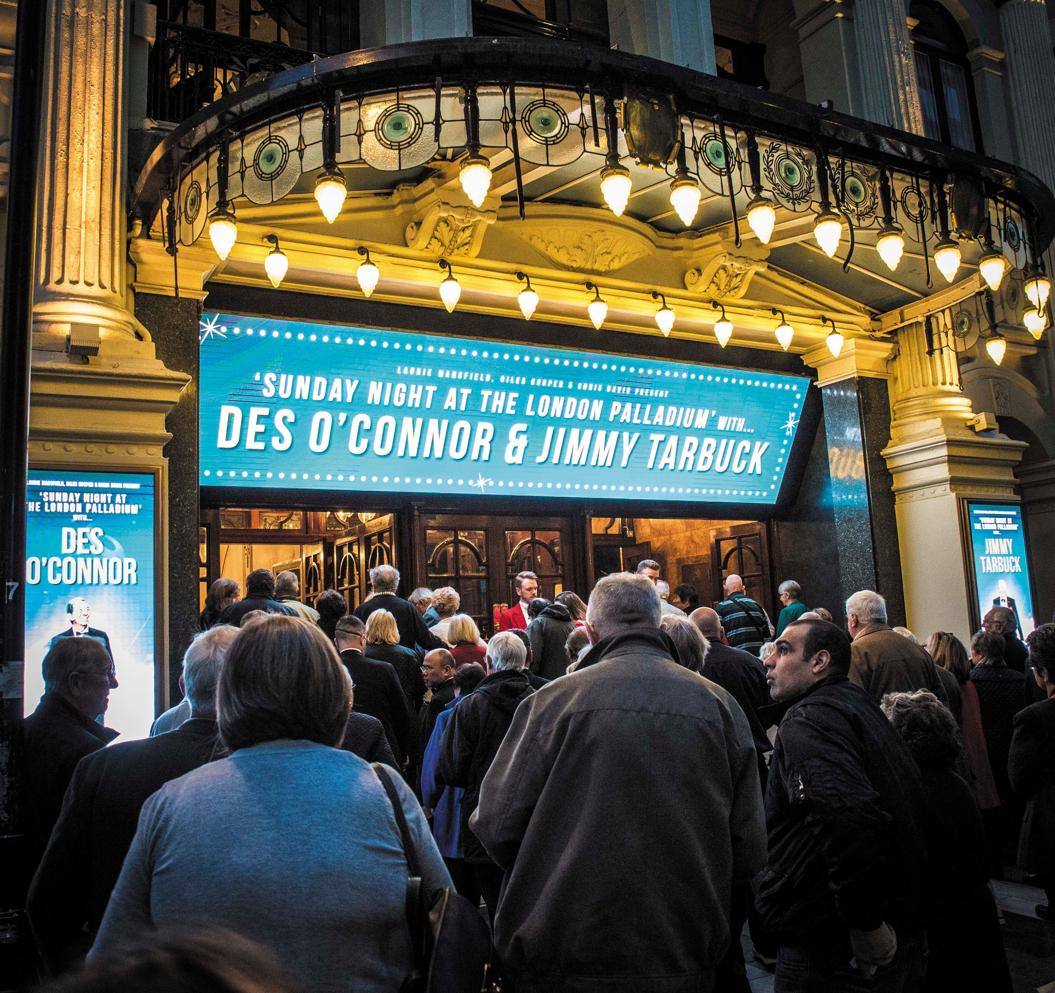 Image result for royal family tarbuck the London Palladium.