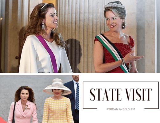 Queen-Raina-State-Visit-To-Belgium