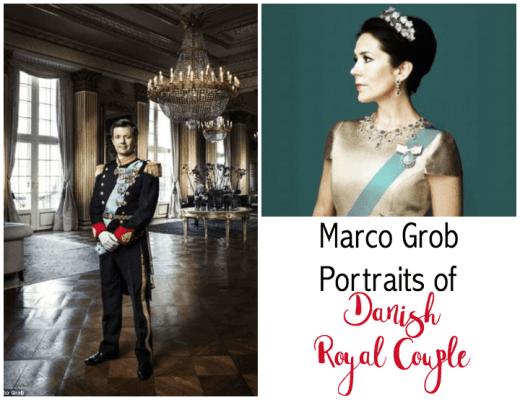Danish Crown Prince Couple Portraits