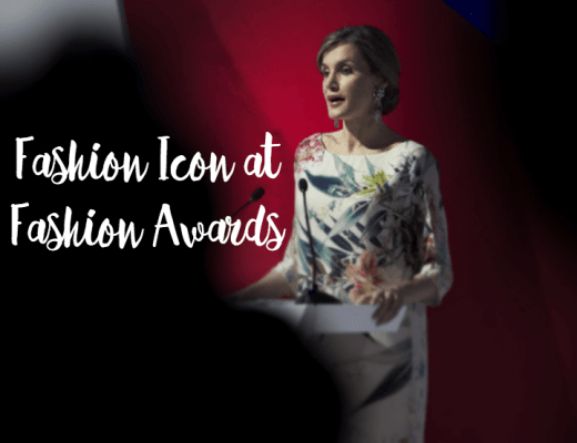 Queen Letizia at Fashion Awards
