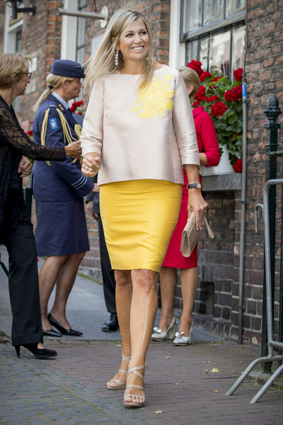 Queen Maxima visits Bartholomeus Gasthuis