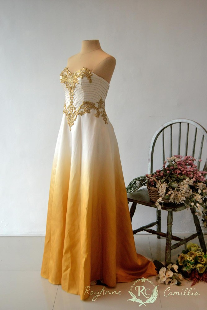 Ombre (gold) - RoyAnne Camillia Couture- Bridal Gowns and Gown ...