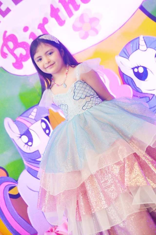 Unicorn themed birthday dress - RoyAnne Camillia Couture- Bridal ...
