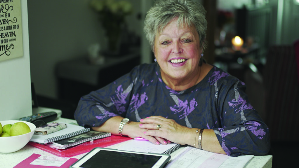 Getting organised made Kathy feel more in control following her lung cancer diagnosis