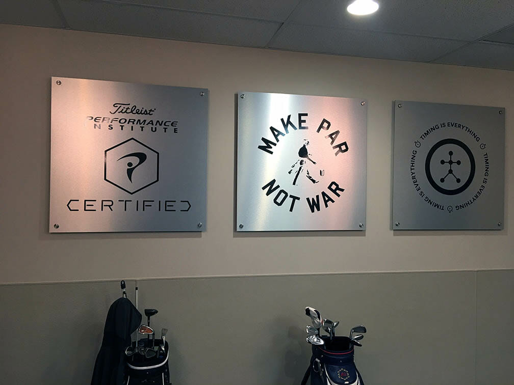 Titleist Plaques