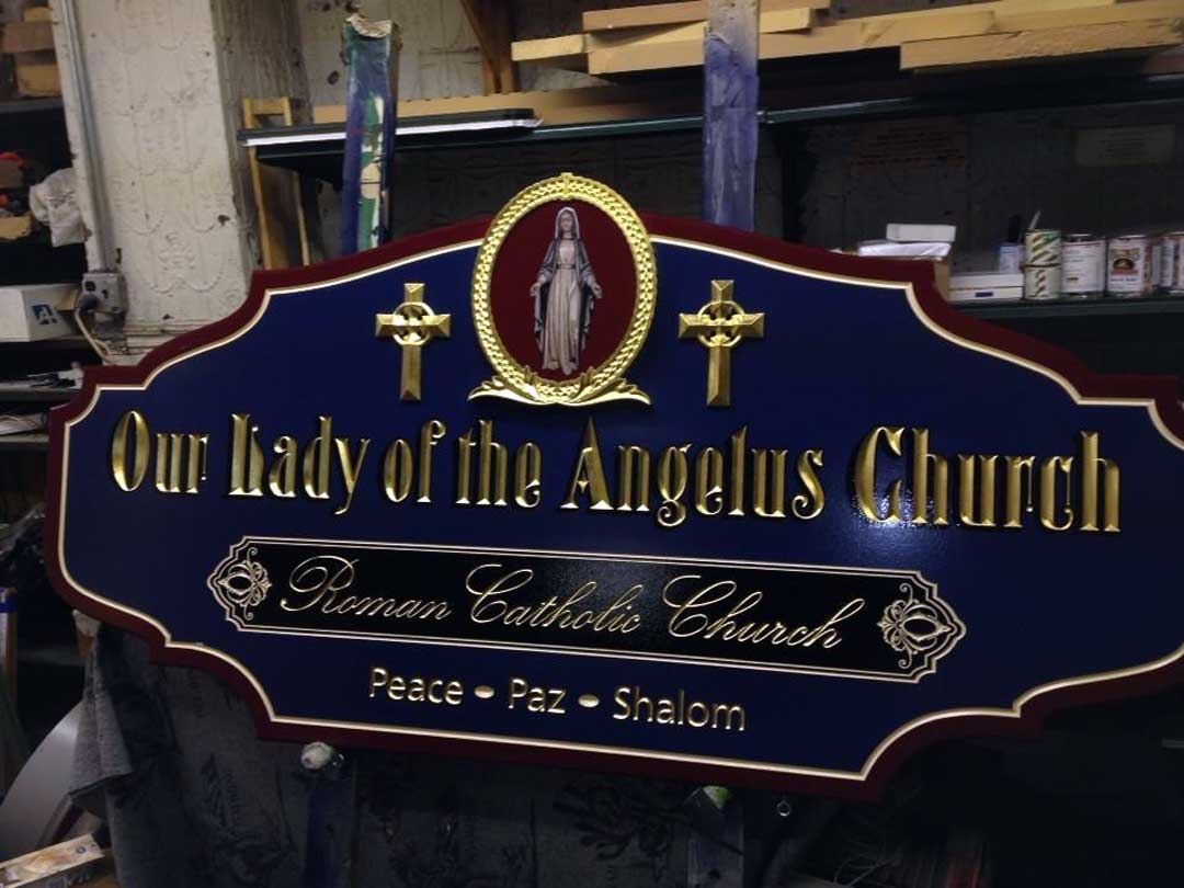 our-lady-of-the-angelus-church-carved-sign