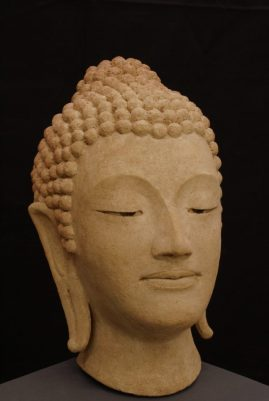 portret Boeddha keramiek