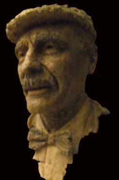portret H Plenter keramiek