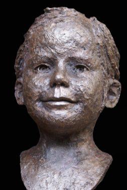 portretje brons