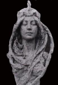 portret Jugendstil vrouw