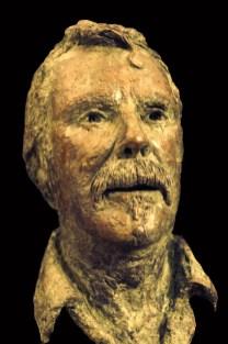 Bronzen portret man