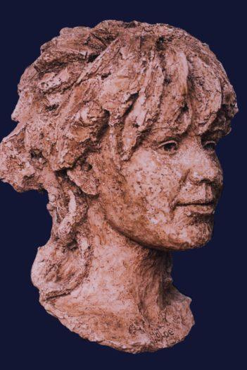 portret meisje keramiek
