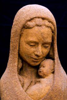 Maria met Jezus