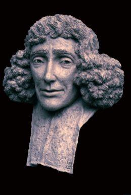 portret Spinoza