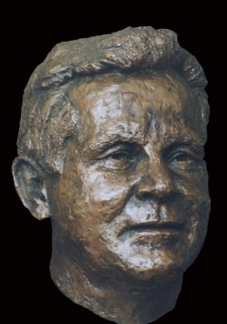 portret bronzen portret
