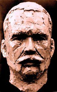 portret brons portret