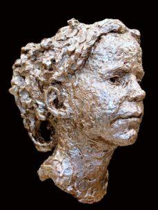 meisje in brons