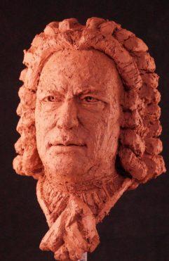 portretkop J.S. Bach