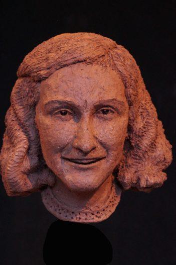 portret van Anne Frank