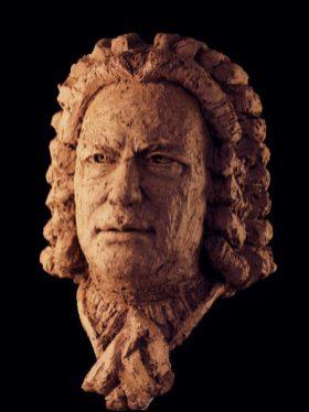 portret van J.S. Bach